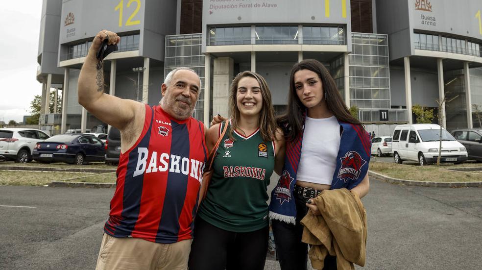 El baskonismo regresa a las gradas del Buesa Arena
