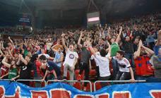 El Buesa Arena duplica su aforo permitido hasta las 12.572 personas