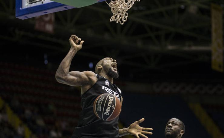Las mejores imágenes del Betis - Bilbao Basket de Liga Endesa 2017
