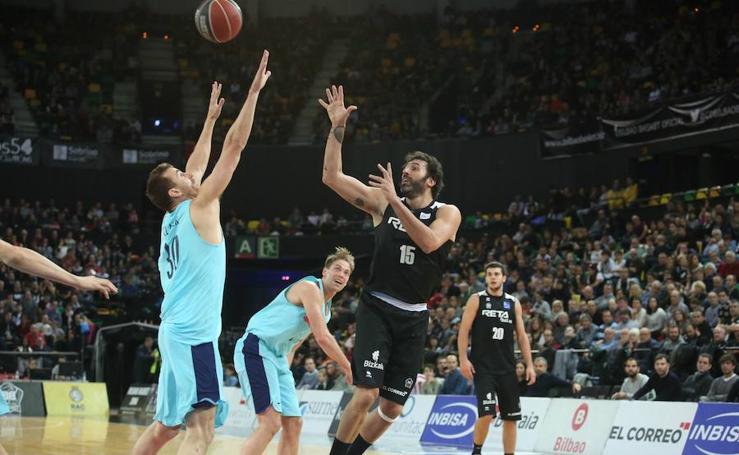 RETAbet Bilbao Basket - Barcelona, en imágenes