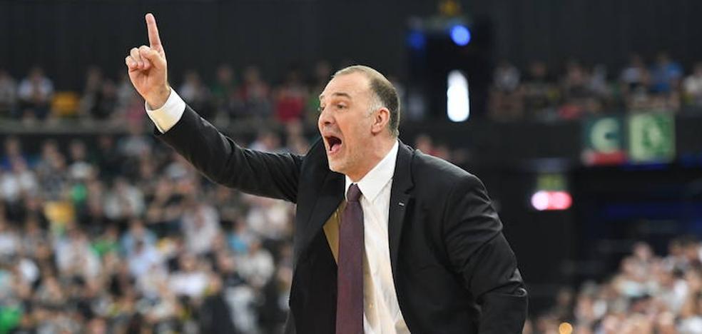 Lakovic sustituye a Mrsic como entrenador del Bilbao Basket