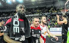 Los jugadores del Bilbao Basket: «Que solo sea un paso atrás»