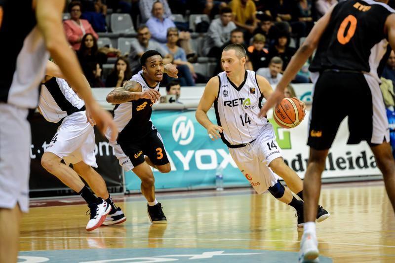 El partido entre el Forca Lleida y el Bilbao Basket, en imágenes