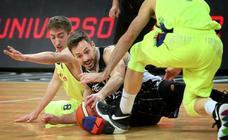 Las mejores fotos del partido entre Bilbao Basket- Barcelona