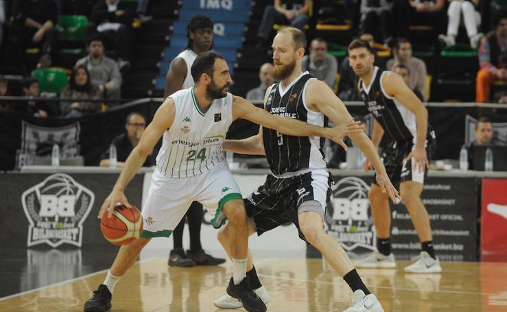 El Bilbao Basket derrota al Betis en Miribilla
