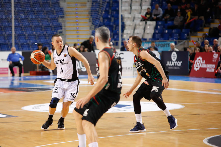 Las mejores fotos de Palma- Bilbao Basket