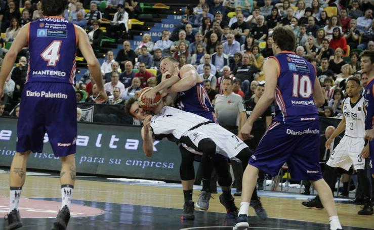 Las mejores imágenes del Bilbao Basket- Palencia