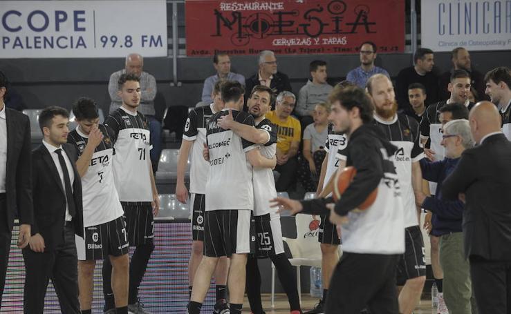 Las imágenes del Palencia-RETAbet Bilbao Basket