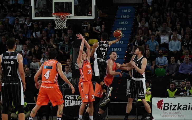 Bilbao Basket-Palencia, en imágenes