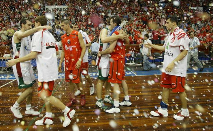 Recuerdos del ascenso al ACB