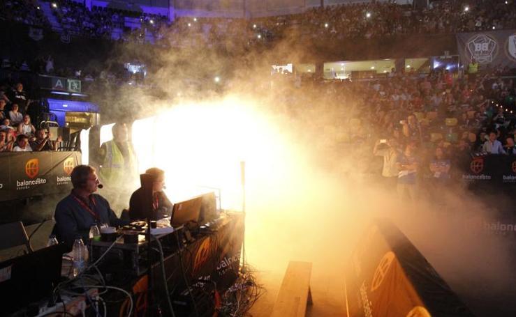 Bilbao Basket-Melilla, en imágenes