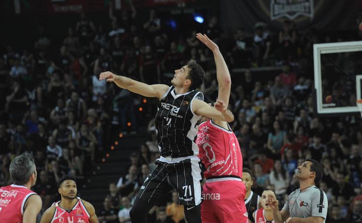 Las mejores imágenes del Bilbao Basket- Iberojet