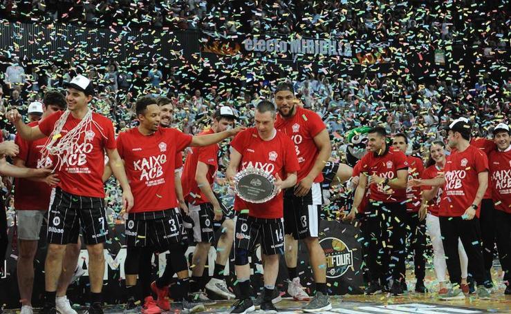 El Bilbao Basket celebra que ya es de la ACB