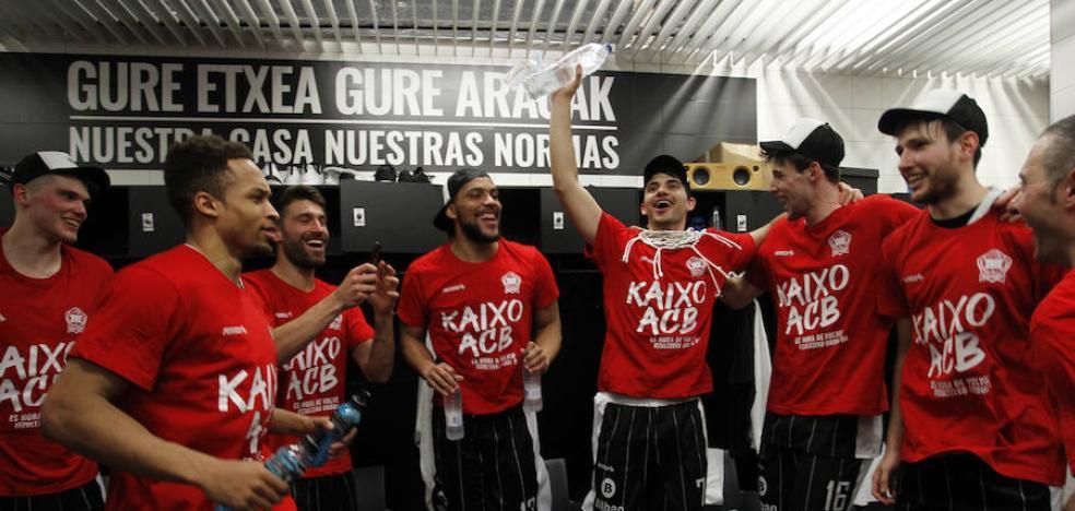 800.000 euros para confeccionar la plantilla ACB del Bilbao Basket