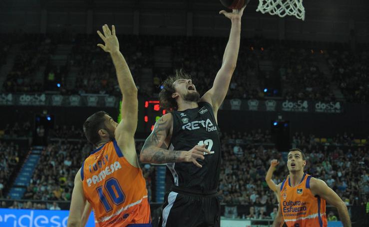 El Bilbao Basket-Valencia, en imágenes