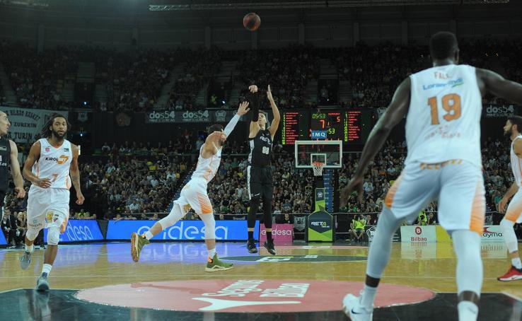 El derbi Bilbao Basket - Baskonia, en imágenes