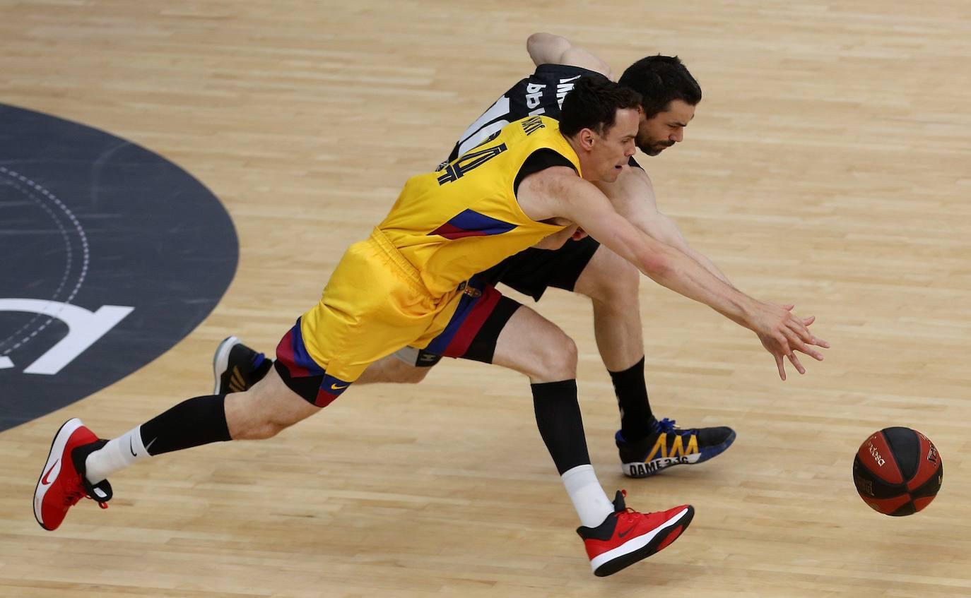 Las mejores imágenes del Bilbao Basket-Barcelona
