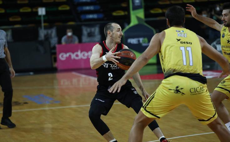 Así ha sido el Bilbao Basket - Iberostar entre estrictas medidas de seguridad