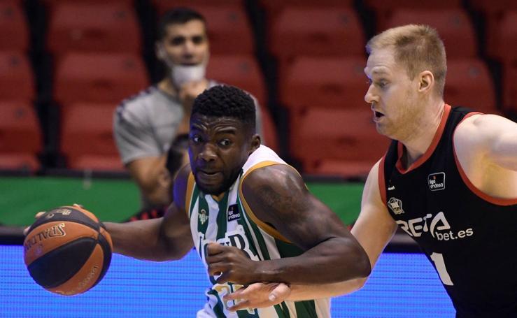 Las imágenes del Real Betis - Bilbao Basket