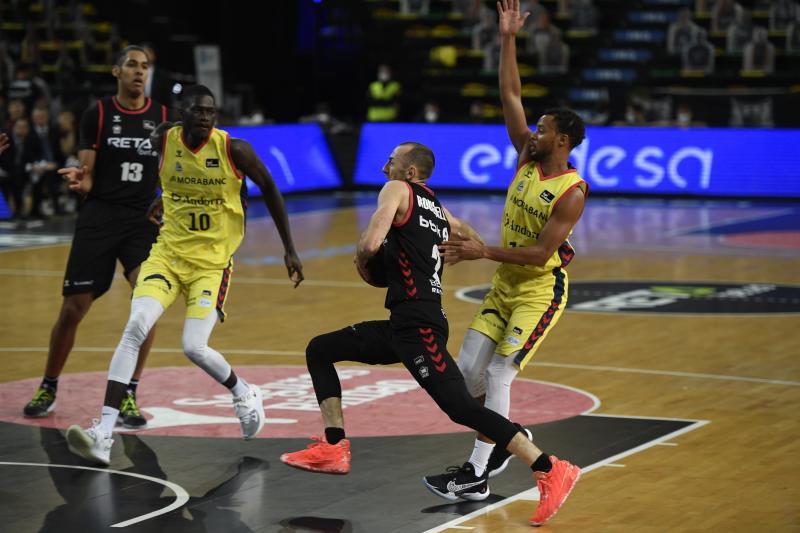Imágenes del partido entre RETAbet Bilbao Basket - Morabanc Andorra