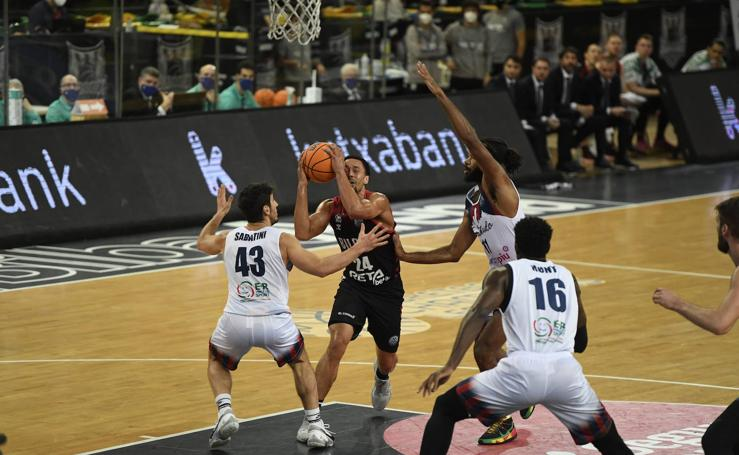 Las mejores imágenes del Bilbao Basket - Fortitudo Bolonia