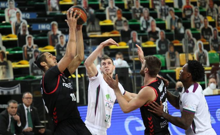 Bilbao Basket - Unicaja, en imágenes