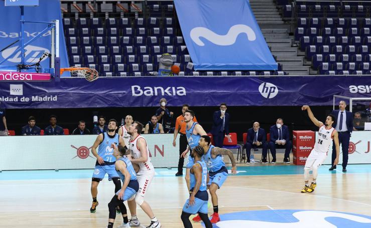 Las imágenes del partido entre Estudiantes y Bilbao Basket