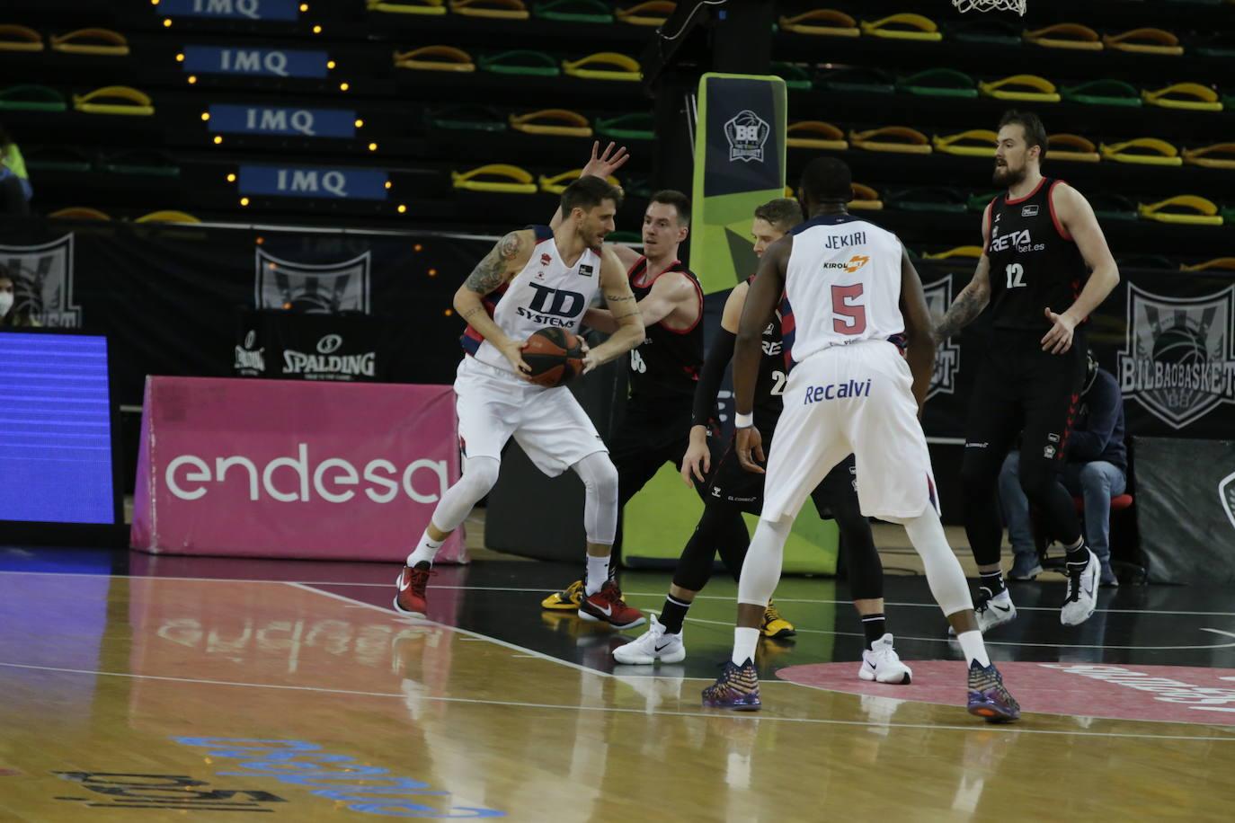 El Bilbao Basket-Baskonia, en imágenes
