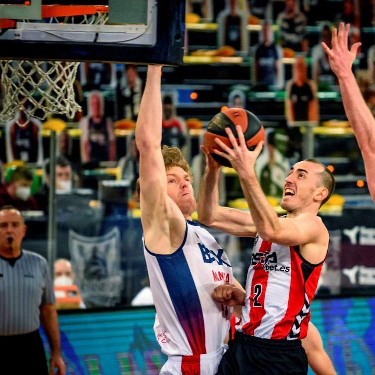 Aplazado el Bilbao Basket-Fuenlabrada por un brote de covid en el equipo madrileño