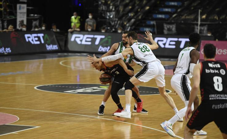 Las mejores imágenes del Bilbao Basket -Joventut