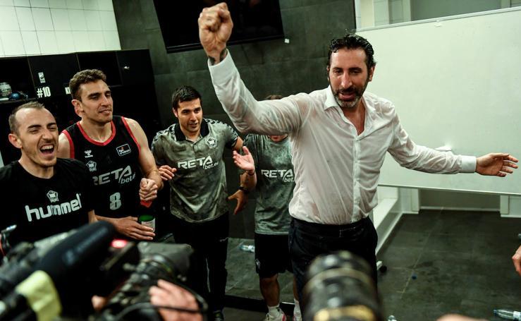 Así ha sido la celebración del Bilbao Basket