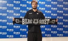 Alejandro Galán, presentado como nuevo jugador del Bilbao Basket: «Siempre lucho y voy a muerte»