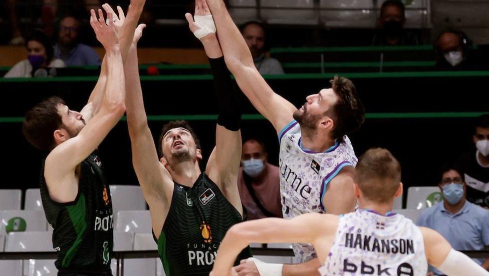 Las mejores imágenes del Joventut-Bilbao Basket
