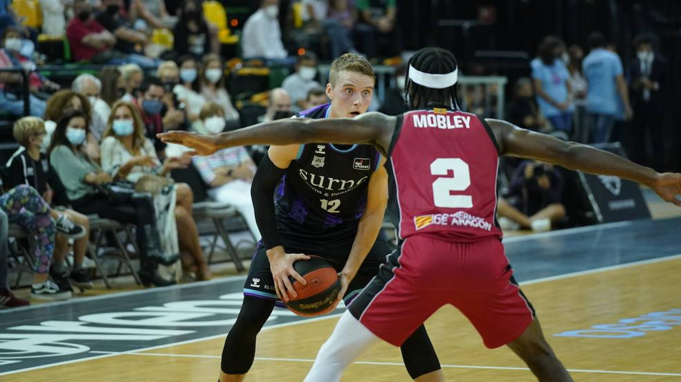 Las mejores imágenes del Bilbao Basket-Zaragoza