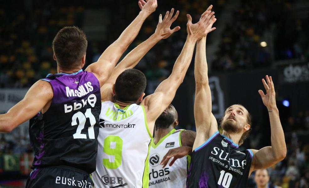 El uno a uno del Bilbao Basket - Fuenlabrada