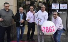 Bilbao se despierta con un chispazo del un quinto premio vendido en Ormaechea