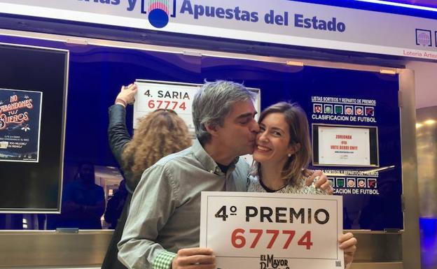 Un cuarto premio deja 200.000 euros en el centro comercial Artea ...