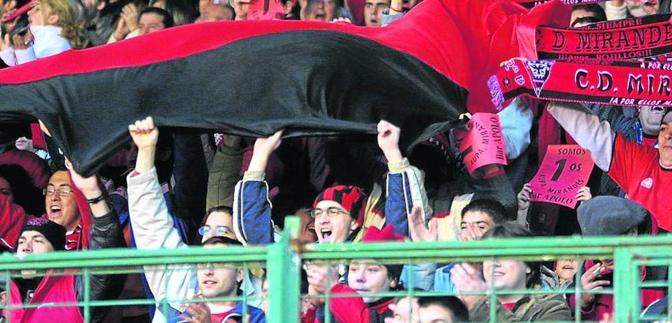 Al menos 700 seguidores rojillos se darán cita mañana en Burgos para arropar al Mirandés