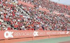 El club balear prevé «unos 14.000 espectadores» en un estadio con capacidad para 23.000 personas
