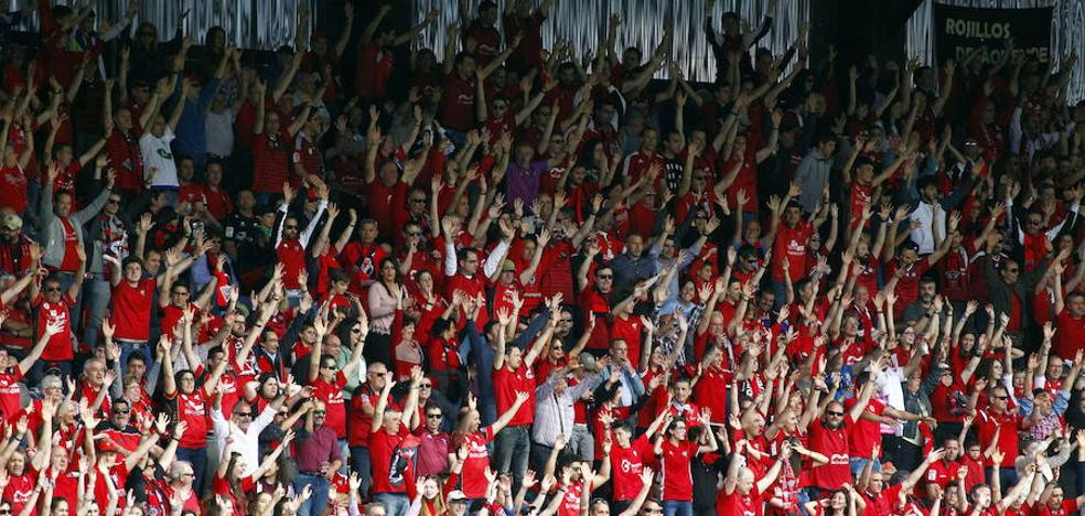 El Mirandés es ahora el cuarto club con más abonados de los 80 que forman la Segunda B