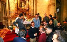 El Mirandés visita a la Patrona