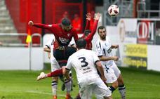 El Mirandés es el equipo de toda la Segunda B que más veces remata a la portería contraria