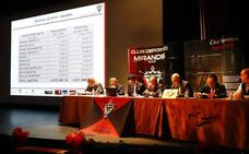 El Mirandés presenta otro superávit, baja el presupuesto y coge 1,7 millones de la caja