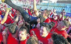 El Mirandés regresa con sufrimiento a Segunda dos años después