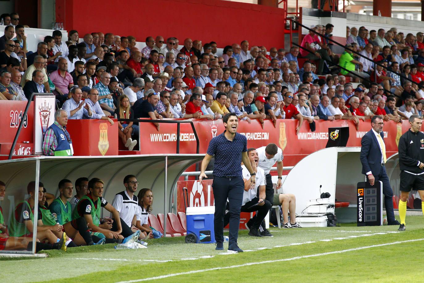 Iraola: «Se nos ha hecho corto el partido porque hemos acabado bien físicamente»