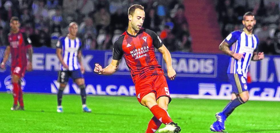 Odei subraya que «vamos con hambre y con toda la confianza del mundo a jugar a Zaragoza»