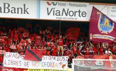 La afición podrá arropar al equipo en Burgos al recibir el club 850 entradas