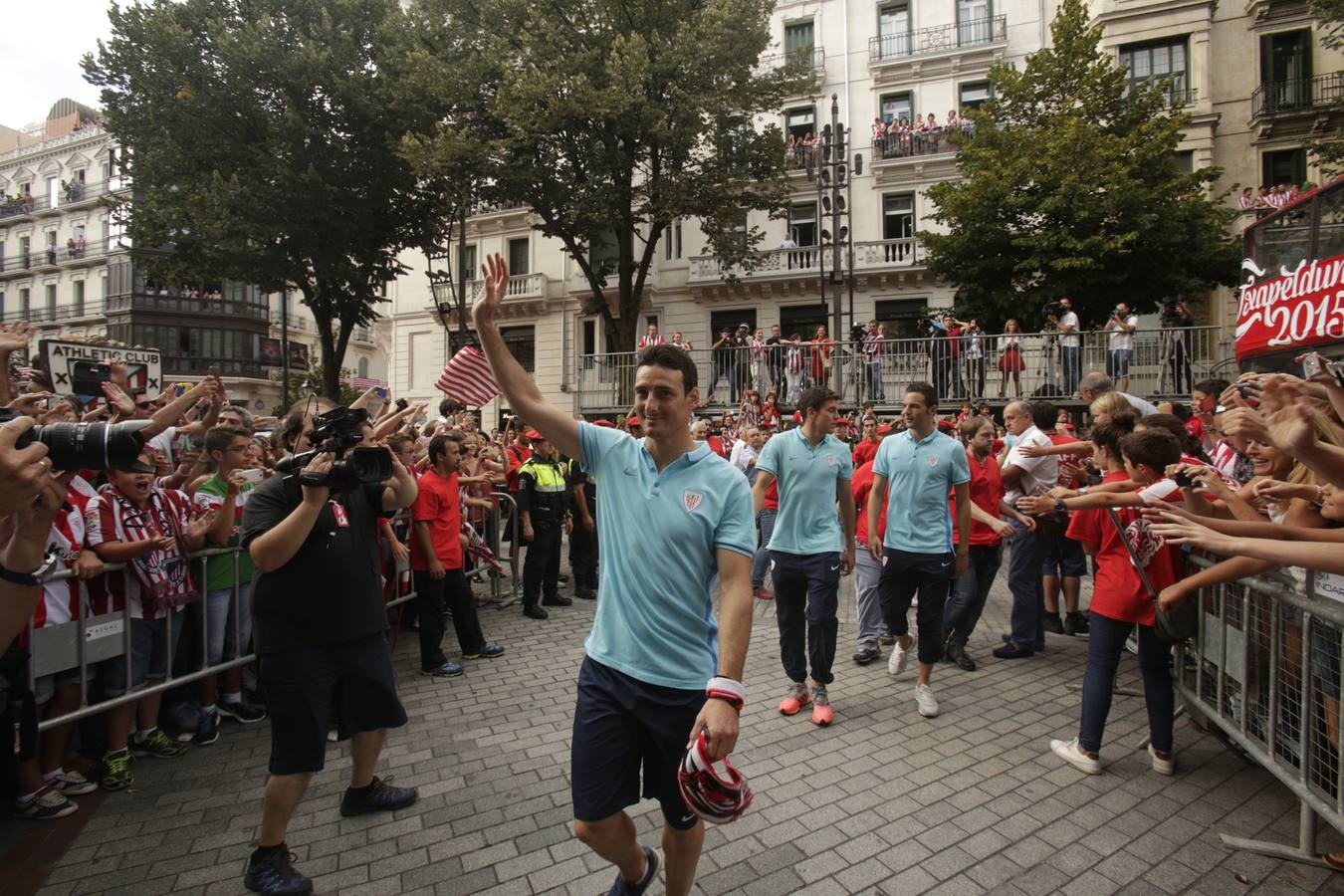 Rementeria recibe con honores al Athletic