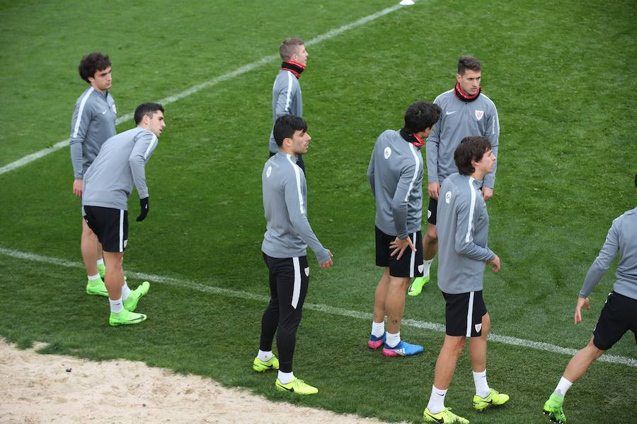 El Athletic se prepara en Lezama