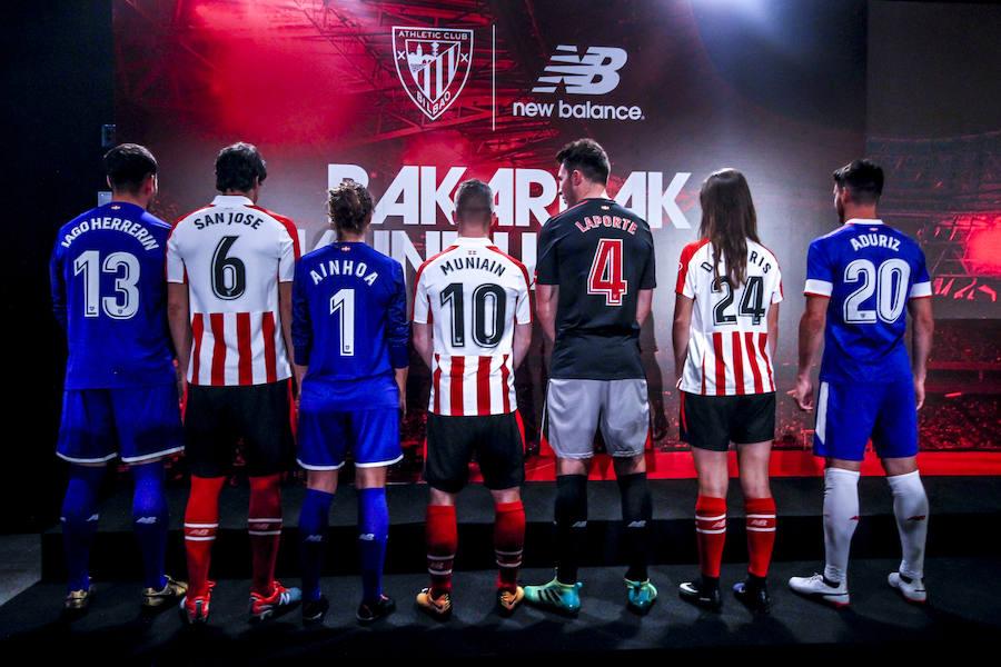 Las nuevas camisetas de Athletic Club para la temporada 2017-2018